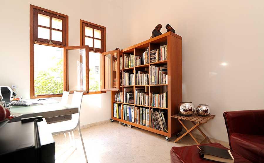 עיצוב דירה בבניין לשימור במרכז תל אביב