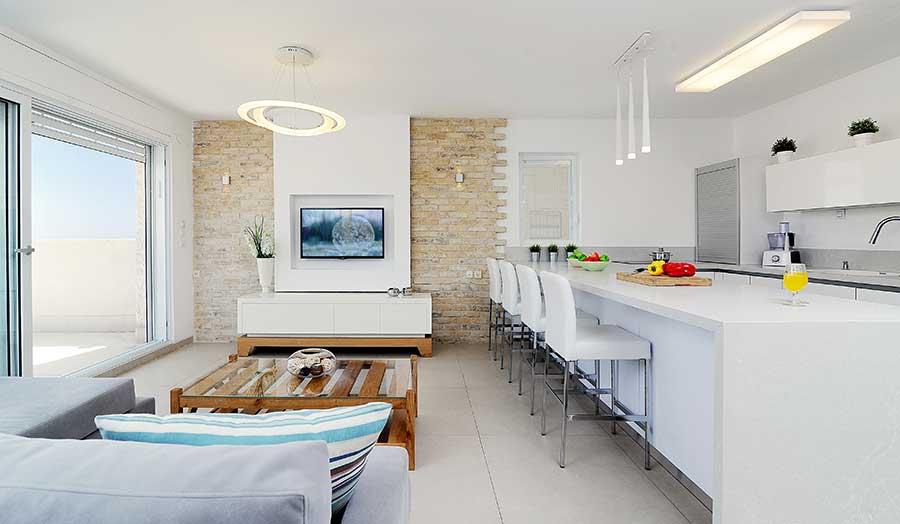 עיצוב דירה פרטית במעלה אדומים